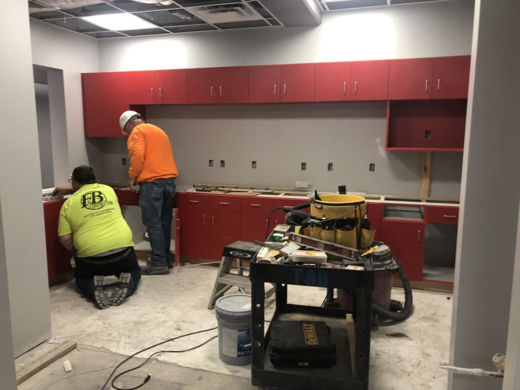 Building Cabinets for The Hub