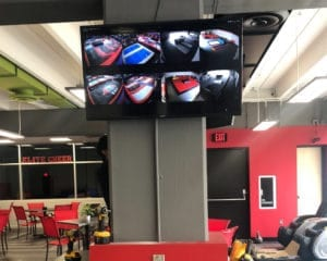 Tv Screens of the Fly Zone