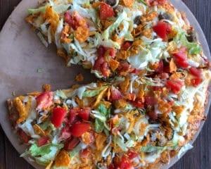 The Hub Pizza & More Taco Pizza