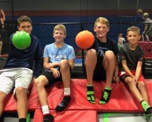 Dodgeball at Youth Night