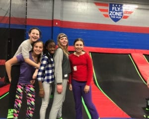 Teens at the Fly Zone